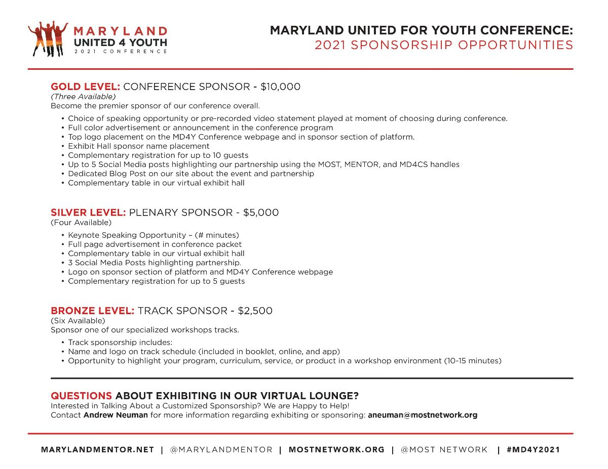 MD4Y Sponsorship Opportunities 2
